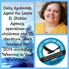 Salley Apokedak, Associate Editor for Leslie H. Stobbe Literary Agency, gives great advice to writers. #NWCWriters  #editor #platform