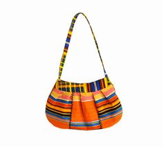 African Kente Fabric Handbag/Purse by SoulfulRoots on Etsy, £28.00