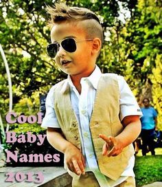 Cool Baby Names for Boys 2013