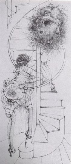 Illustrations byHans Bellmerfor Georges Bataille's Madame Edwarda