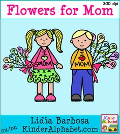 FREE clip art for your Mother's Day projects
