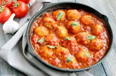Sicilian Cod Meatballs make a delicious heathy family meal and are so easy to put together in just 30 min - Toss them with delicious homemade italian tomato sauce for authentic Mediterranean flavors delivered straight in your mouth! Gluten-free recipe from thepetitecook.com