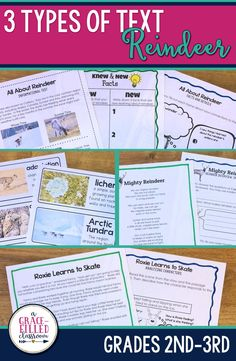 Planning reindeer activities and reindeer reading for your second graders is easy this Christmas season. Your students will read reindeer informational text, reindeer story and reindeer poem!