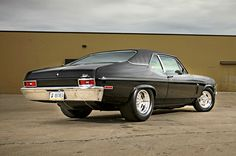 Wicked Fast and Super Clean Street/Strip 447ci Stroker 1970 Chevrolet Nova