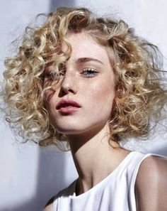 Image result for 2018 curly haircuts