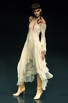 Alexander McQueen + Spring Summer 2002 + The Dance of the Twisted Bull