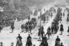 With the Civil War fighting finished, Washington pulls out all the stops for a Grand Review