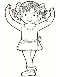 Printable Coloring Book For Kids 25 Groovy Girls Page See More Ballerina
