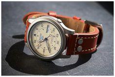 Seiko SNK803+brown Leather strap