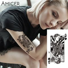 Poker Face Henna ... New product available. Chek it out here  http://phix-shop.myshopify.com/products/poker-face-henna-temporary-tattoo-black-mehndi?utm_campaign=social_autopilot&utm_source=pin&utm_medium=pin