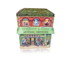 The Silver Crane Company Tins CANO0002 Large Canopy Grocer Shop