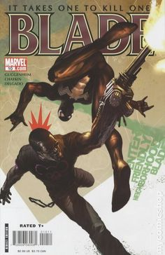 Blade (2006 3rd Series Marvel) 10