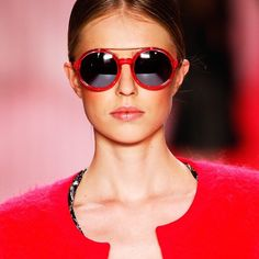 ANDERNE EYEWEAR IN NEON PINK AS SEEN IN THE MERCEDES BENZ FASHION WEEK RUNWAY. FIND THEM @ X-EYES SUNGLASS SHOP IN NICOSIA, CYPRUS. CONTACT US: xeyes.cy@gmail.com