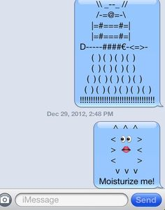 Doctor Who texts!  We are geeks!