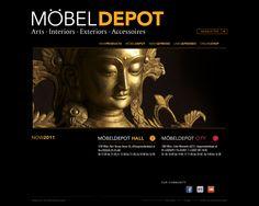 moebeldepot.at 2011 Design: Tom Kilian & Sternwerk. Frontend & Backend: Dorn edv Dienstleistungen. CMS: oPage