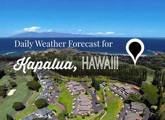 Currently 90° in Kapalua.  Connect with us on Twitter for the Daily Weather Forecast for Kapalua, Hawaii at https://twitter.com/MauiSakamoto.   www.SakamotoProperties.com #maui #hawaii #kapalua #weather #tweets