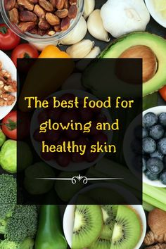 Eating these foods will increase its health, slow aging and increase skin immunity against infections.