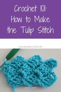 how to make the tulip stitch
