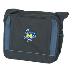 Saddle Bag Black w/ Blue  'Primary Logo'