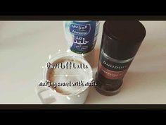 instant espresso - Davidoff espresso 57 / how to make a cafe latte / wit. Espresso Recipes, Coffee Recipes, Espresso How To Make, Cafe Style, Instant Coffee, Dessert Drinks, Espresso Coffee, Latte, Milk
