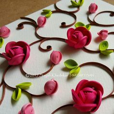 Some more shots of my earlier post! Hope you all love the vibrant colour scheme In one of the pictures I have placed a single quilled flower on a paper doily made by using @marthastewart doily maker #paperquilling #quilling #art #paperfiligree #paperart #paperartmagazine #quillingflowers #pinkflowers #artistsoninstagram #artistsofinstagram #artFido #AOV #arts_gallery #art_collective #artshare #DRKYSELA #artopia_world #artsanity #art_conquest #art_collective #sayalikhedekar #SAYARTISA...
