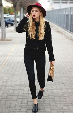 Cerejas no Topo: All Black // 5 Looks para Usar Antes do Inverno Acabar