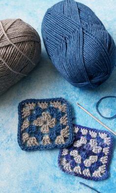 Isoäidinneliö | Meillä kotona Throw Pillows, Crochet, Crochet Hooks, Cushions, Decor Pillows, Crocheting, Chrochet, Decorative Pillows