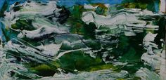 REMOUS TOURBILLONS (Peinture) par Jeannette ALLARY Huile sur cartonnette