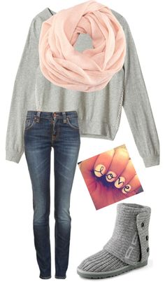 """""""Love Fall"""" - adore the jumper and snood!"""