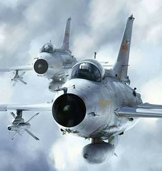 Migs in Foreign Service! Military Jets, Military Weapons, Military Aircraft, Fighter Aircraft, Fighter Jets, Chengdu J 7, F4 Phantom, Mig 21, Shenyang
