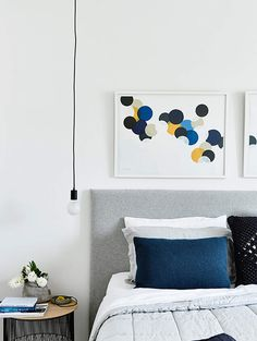 Modern extension by Heartly Klein Blue, Contemporary Interior, Interiores Design, Luxury Bedding, Interior Architecture, Melbourne Architecture, Home And Family, Family Homes, Interior Decorating