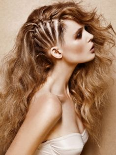 Glam Hair Styling Ideas for Long Hair - Prep your locks for these super glam hair styling ideas for long hair. Add a dainty flutter to your cascading tresses with a few professionally inspired sculpting tricks.