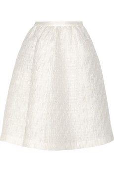 Rochas Matelassé organza skirt | THE OUTNET