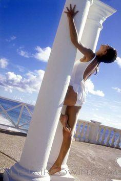 Shot for model's Portfolio in Barbados