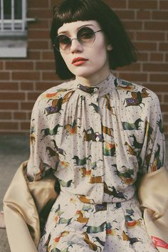 Material Girl Magazine Spring 2014 by Sofie Olejnik, via Behance