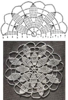 Crochet patterns crochet free pattern of queen anne s lace motif Vintage Crochet Lace Free Written Pattern … Source … The Master Motif pattern Another Pattern Crochet Patterns of crochet motifs stitches Lace Tablecloth blankets Curtain and Bedspread Mandala Au Crochet, Free Crochet Doily Patterns, Crochet Diagram, Crochet Chart, Crochet Squares, Crochet Stitches, Knitting Patterns, Free Pattern, Doilies Crochet