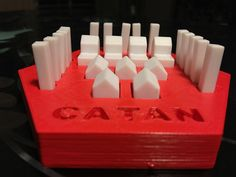 Decked Out player organizer system for Settlers of Catan This little organization container will hold all of one players roads, cities and settlement and can come in any of our available colors. (ask for colors not listed) We offer discounts on 4 packs and 6 packs. ******* Check out our other Catan Products: Original Replacement Pieces https://www.etsy.com/listing/478603013/settlers-of-catan-replacment-pieces Remixed Cultural Game Pieces https://www.et...