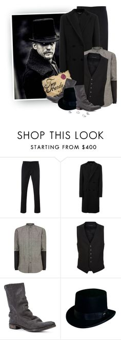 """""""Tom Hardy in TABOO"""" by hollowpoint-smile ❤ liked on Polyvore featuring Paul Smith, Dolce&Gabbana, Public School, Tom Ford, A Diciannoveventitre, Dorfman Pacific, men's fashion and menswear"""