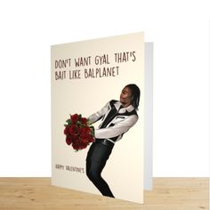 Another Amazing Russ valentines cards. Gun lean on Valentines day with a card for him and her.