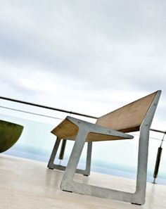 Reminiscent of vintage school chairs and tables, Bird is a distinctive and creative chair-and-table combination by Piergiorgio Cassomiga. The frame is constructed of galvanized steel, and the seating and table tops are laminated plantation teak. 32-89-612-750; tribu.com.