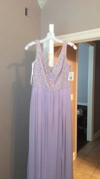 35ab7b12 Used Women's purple sleeveless dress. David's bridal dress for sale in  Covington - letgo
