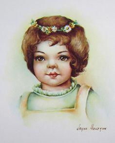 """Art Instruction """"Ginger"""" by Jayne Houston 1971   eBay"""