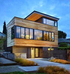 Do you like timber clad houses?