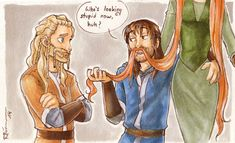Kili's new beard by CaptBexx on deviantART
