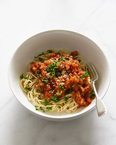 """486 Likes, 8 Comments - Erina 🌱 (@vegan_gohan) on Instagram: """"Lunch was gluten free capellini with tomato sauce. お昼ごはんはカッペリーニパスタにトマトソース。…"""""""
