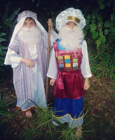 Dress up as Bible Characters | Moses and Aaron | Future Bible Drama Project