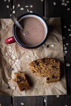 Bizcocho Integral de Calabaza y Chocolate
