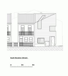 Context - Elevation Stirling House / Mac-Interactive Architects