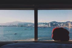 Nice harbour view when u are staying at Butterfly on Waterfront.  #ButterflyHotel #butterflyonwaterfront #SheungWan #hongkong #HotelsHK