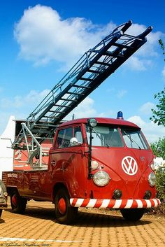 Fire Volkswagen Ladder Single Cab ◉ re-pinned by http://www.waterfront-properties.com/browardcountyrealestate.php